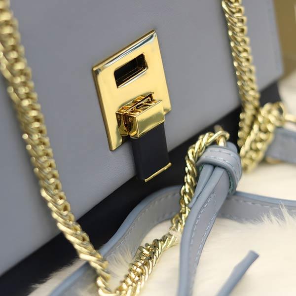 Túi xách nữ da thật giá rẻ Lano TXN007 - khóa túi