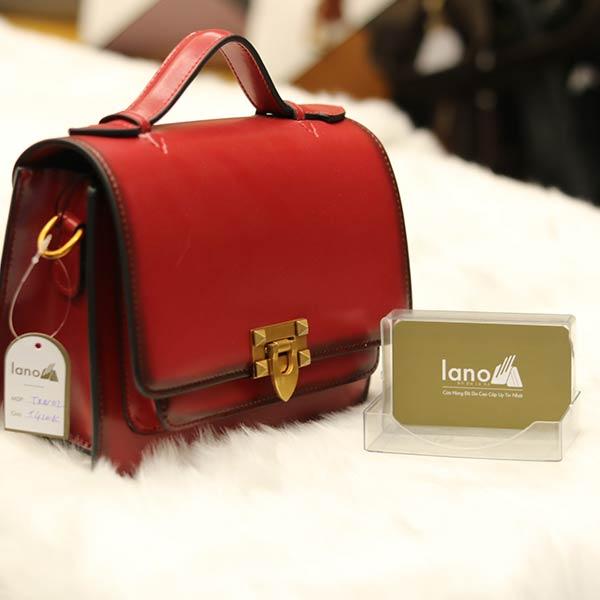 Túi xách nữ đẹp thời trang cao cấp Lano TXN002 - nghiêng