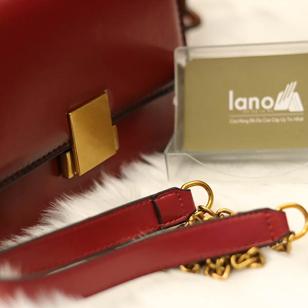 Túi Xách nữ Hàn Quốc dáng đẹp da bò thật Lano TXN008 - dây đeo