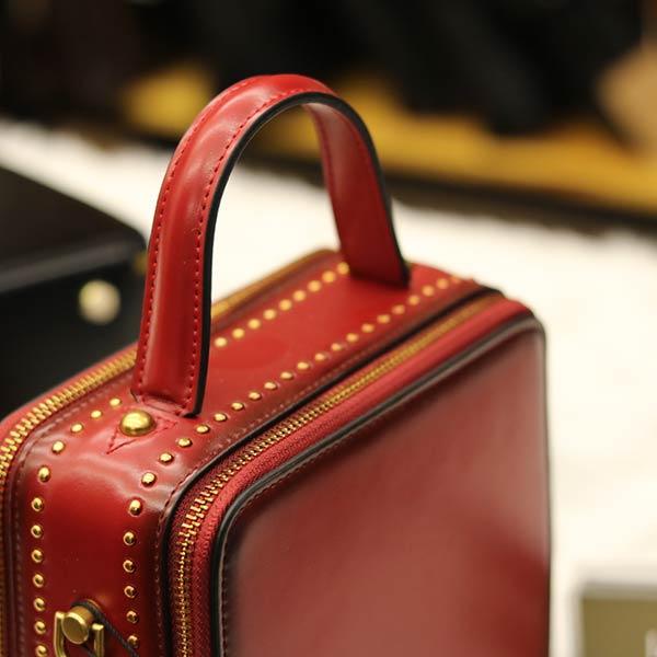 Túi xách nữ hàng hiệu da thật Lano TXN001 - tay xách
