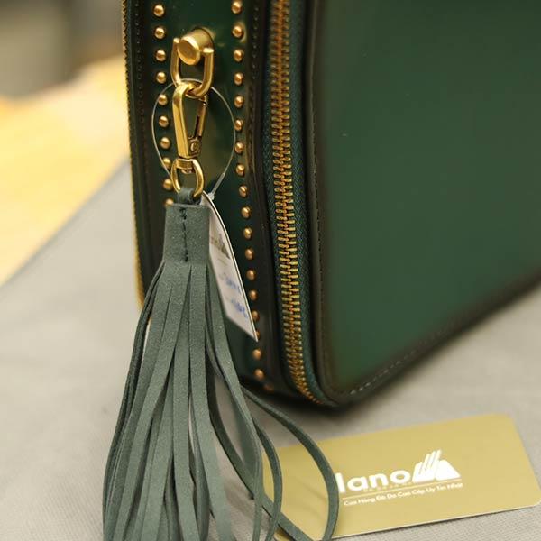 Túi xách nữ hàng hiệu da thật Lano TXN001 - cạnh bên