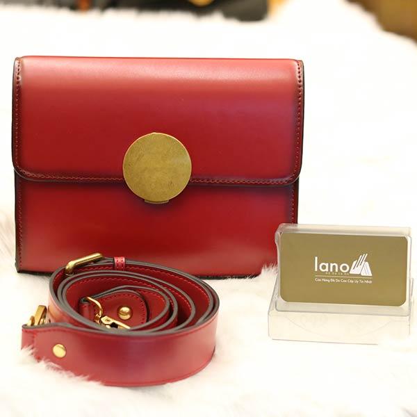 Túi đeo chéo nữ Lano hàng hiệu nhỏ gọn phong cách mới TXN011