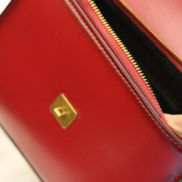 Túi đeo chéo nữ Lano hàng hiệu nhỏ gọn phong cách mới TXN011 - ngăn trong