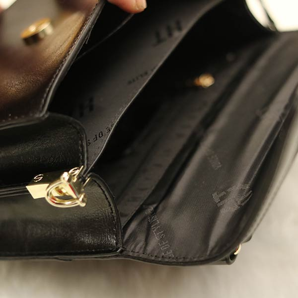 Túi xách nữ da bò thật Hauton trẻ trung tiện lợi TXN018 ngăn trong