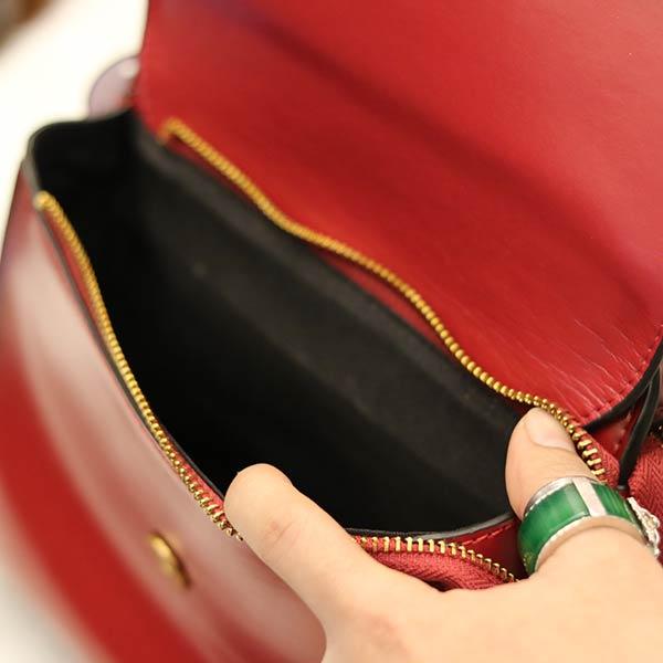 Túi xách nữ đeo chéo xách tay thời trang phong cách Hàn Quốc TXN010 - ngăn trong