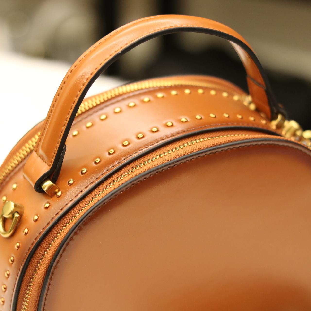 Túi xách nữ Lano đeo chéo sang trọng bằng da thật TXN016 tay xách
