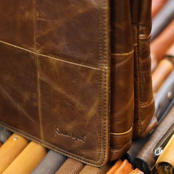 Cặp da nam Lano thời trang công sở CD88 logo sắc nét