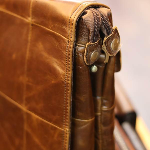 Cặp da nam Lano thời trang công sở CD88 quai đeo chéo chắc chắn