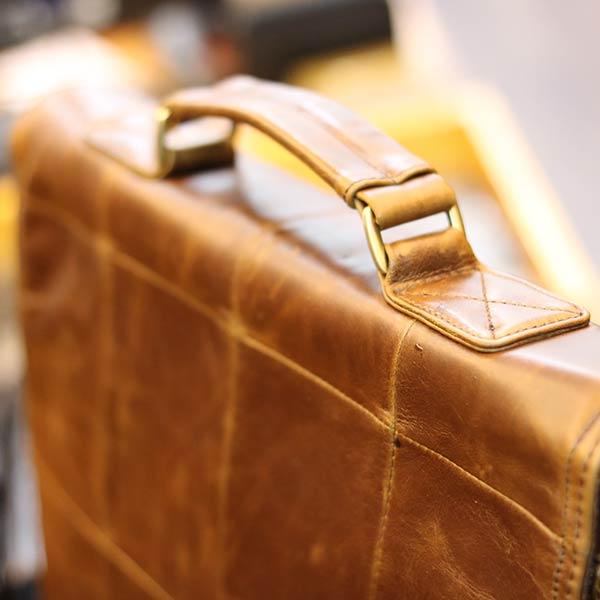Cặp da nam Lano thời trang công sở CD88 quai xách tay chắc chắn