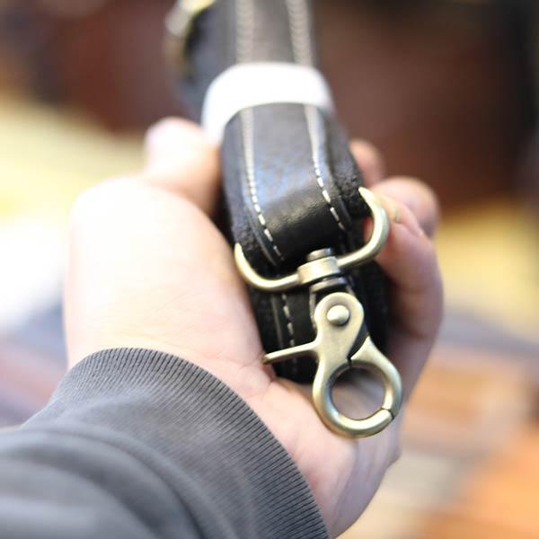 Túi cầm tay nam da bò đẳng cấp cho phái mạnh CLT15 - dây đeo
