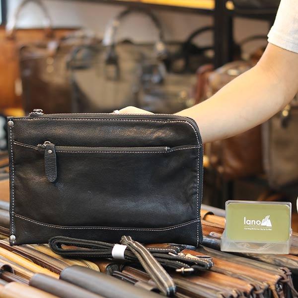 Túi cầm tay nam da bò mẫu mới 2019 CLT14
