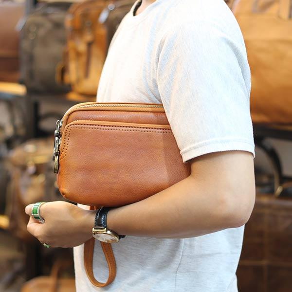 Túi cầm tay nam thời trang đẳng cấp phái mạnh CLT11
