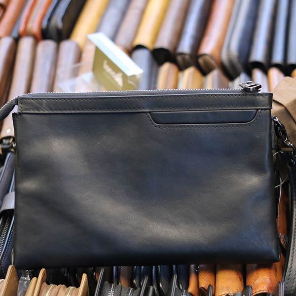 Túi da nam cầm tay thời trang mới 2019 CLT010