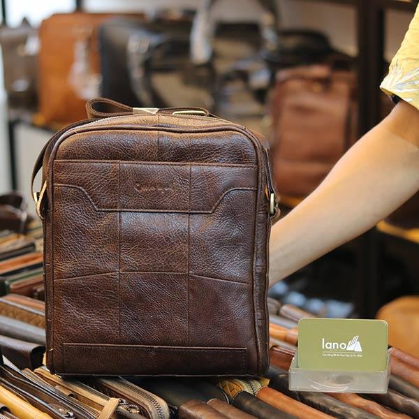 Túi da nam công sở Lano gọn gàng tinh tế KT130