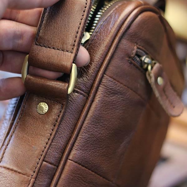 Túi da nam công sở gọn gàng tinh tế KT130 quai đeo chắc chắn