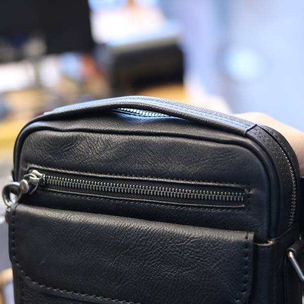 Túi đeo chéo nam Lano mới lại KT121 quai xách tay