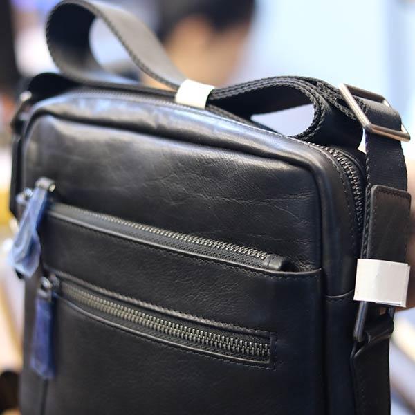 Túi da nam đeo chéo Lano thời trang cao cấp KT122 ngăn phụ phía trước