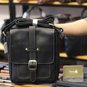 Túi đeo chéo nam da bò thật thời trang đẳng cấp 2019 KT133