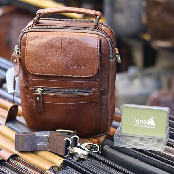 Túi đeo chéo nam nhỏ gọn có quai xách tay KT127 dây đeo chéo rời
