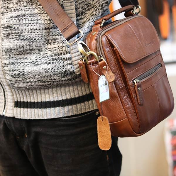 Túi đeo chéo nam nhỏ gọn có quai xách tay KT127 đeo chéo