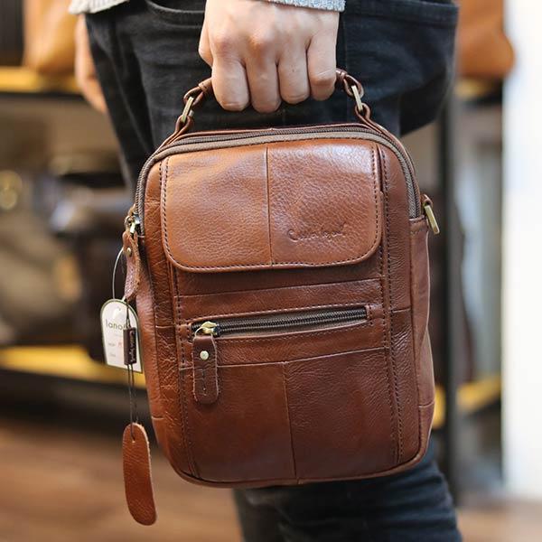 Túi đeo chéo nam nhỏ gọn có quai xách tay KT127 kiểu dáng xách tay