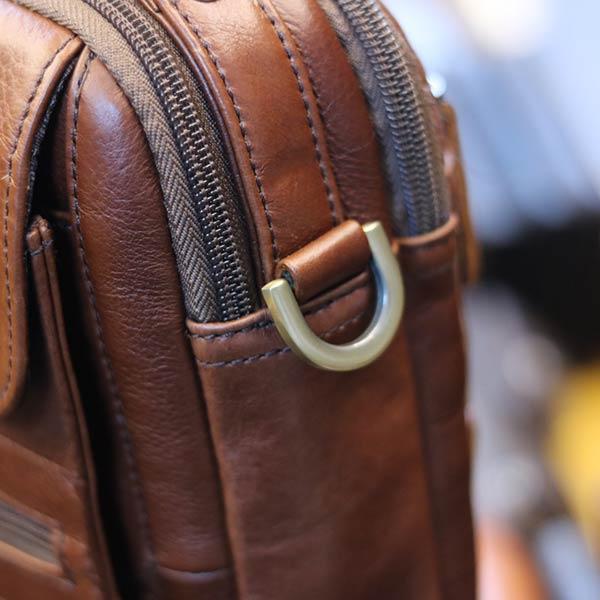 Túi đeo chéo nam nhỏ gọn có quai xách tay KT127 quai đeo chắc chắn