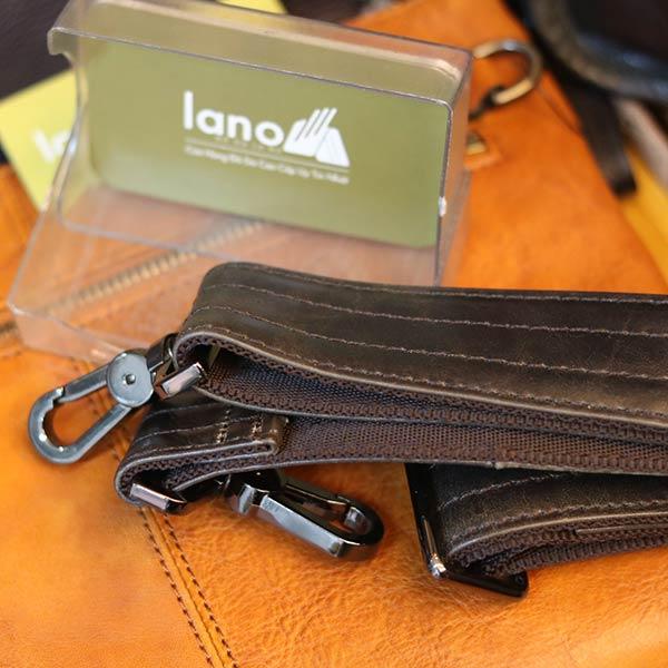 Cặp xách nam Lano đeo chéo đựng Laptop 15 inch CD37