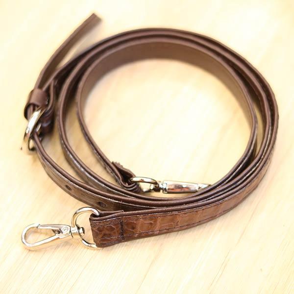 Túi xách đeo chéo nữ Lano da cá sấu cao cấp loại nhỏ TCSN01 dây đeo