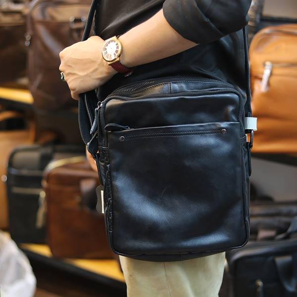 Túi da nam đeo chéo Lano thời trang mới 2019 KT125