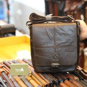 Túi da nam đeo chéo thời trang Lano công sở KT141
