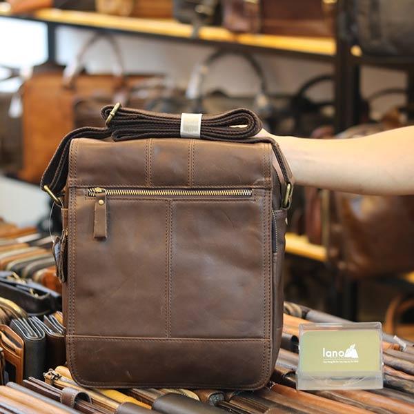 Túi da đeo chéo đựng iPad Lano thời trang cao cấp KT151
