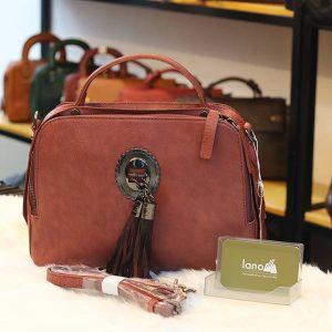 Túi da Handmade nữ Lano cao cấp TXN027