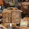Túi da nam đeo chéo có quai xách thời trang tiện lợi KT150