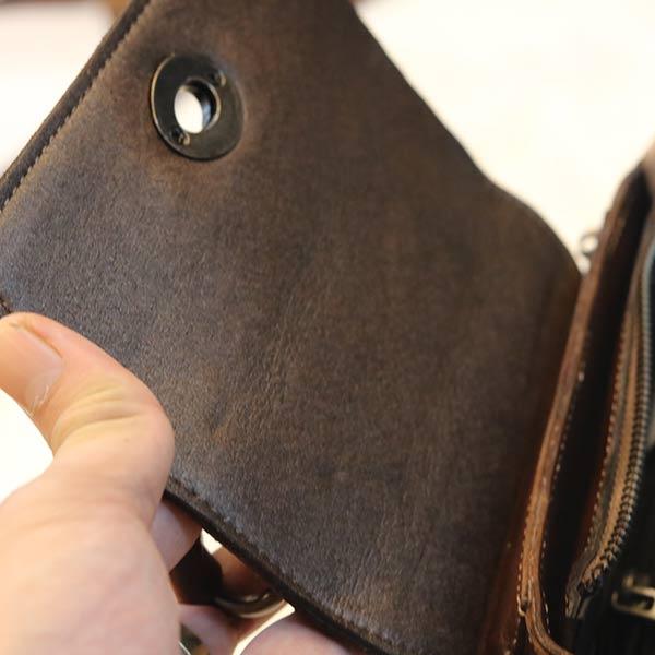 Túi da nữ mini cao cấp xách tay Handmade TXN020