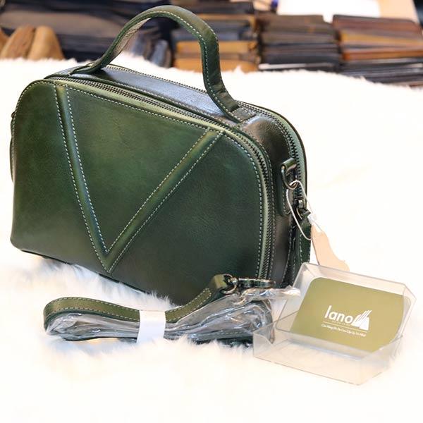 Túi da nữ xách tay Lano cao cấp Handmade TXN022