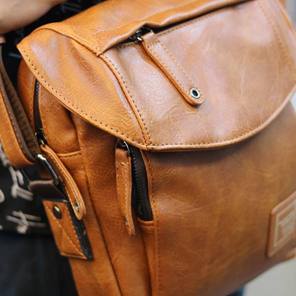 Túi đeo chéo nam Lano thời trang cao cấp Jre10