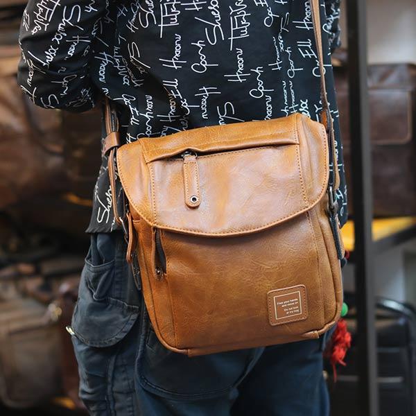 Túi đeo chéo nam Lano thời trang cao cấp Jre10 đeo chéo
