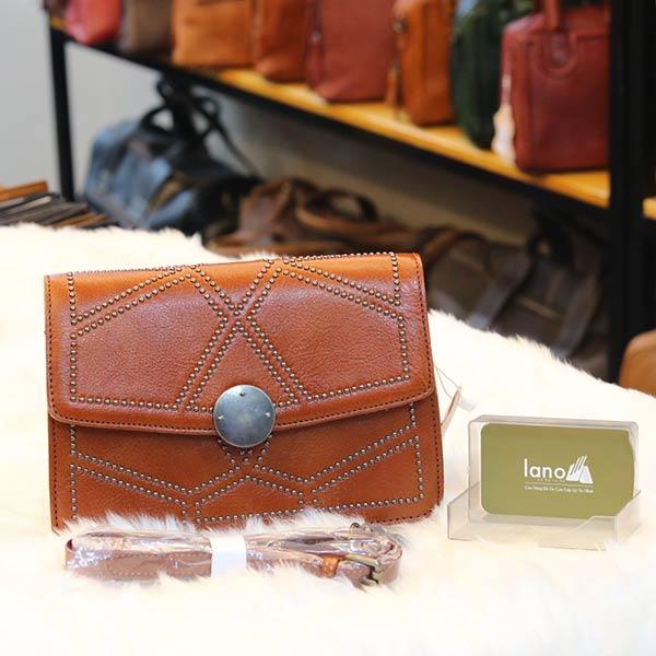 Túi đeo nữ da thật Lano thời trang sang trọng TXN023
