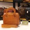 Túi xách nữ da thật Lano kiểu dáng vuông Handmade TXN031