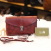 Túi Xách Nữ mini Lano đeo chéo cầm tay da bò thật TXN036