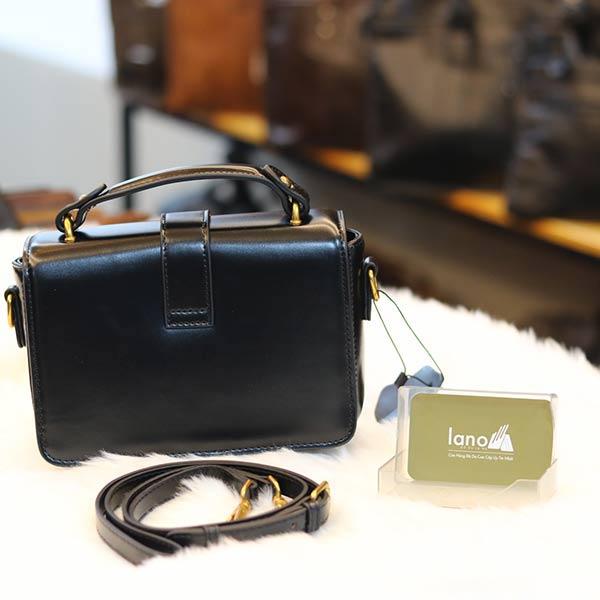 Túi xách nữ mini Lano thời trang sang trọng TXN032 mặt sau