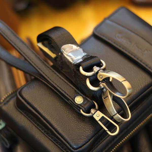 Túi da nam đeo chéo Lano nhỏ gọn tiện lợi KT159
