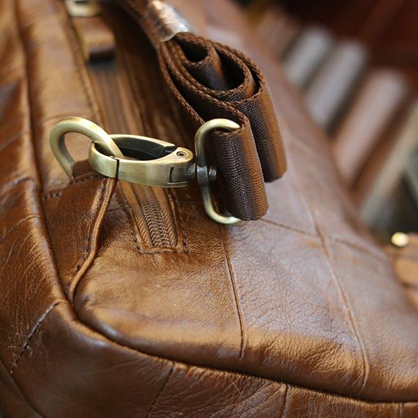 Túi da nam đeo chéo ngực Lano thời trang đẳng cấp TDL61