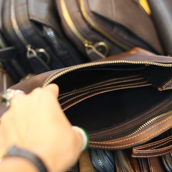 Túi cầm tay nam da bò lano mỏng gọn thời trang clt27