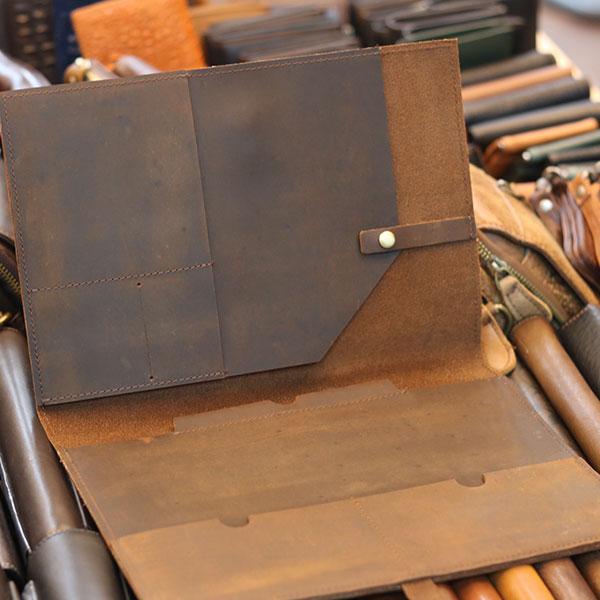 Túi cầm tay nam da bò thời trang sang trọng đựng iPad 9.7 inch Lano CLT24