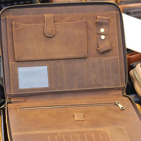 Túi da nam cầm tay đựng iPad 10.5 inch sang trọng gọn nhẹTúi da nam cầm tay đựng iPad 10.5 inch sang trọng gọn nhẹ