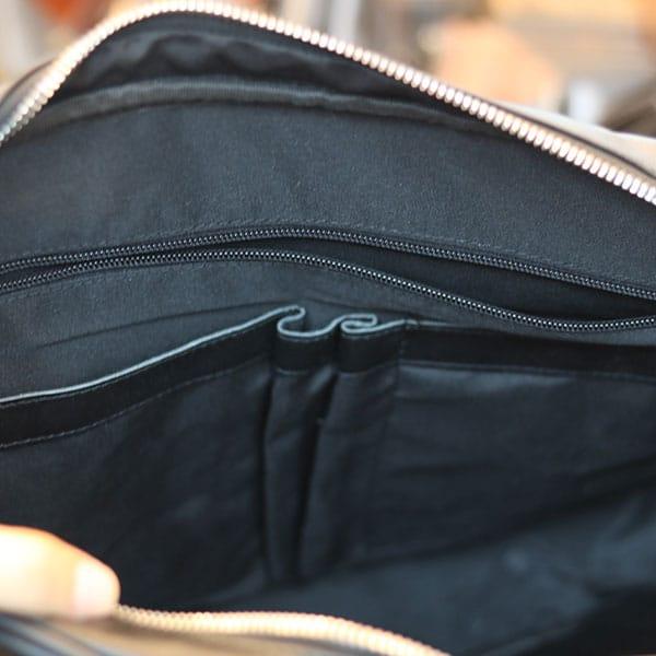 Cặp da công sở Lano da bò thật đựng laptop 15 inch CD97