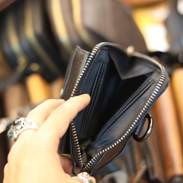Túi da đeo chéo nam Lano loại nhỏ đeo thắt lưng KT161