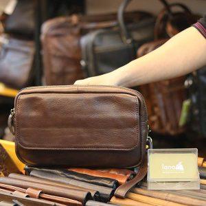 Túi cầm tay nam da bò tiện lợi phong cách mới CLT38