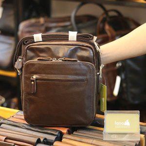 Túi da đeo chéo gọn nhẹ tiện lợi KT167